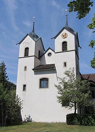 Böttstein Castle - Böttstein Castle chapel