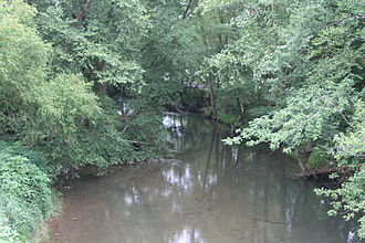 Chillisquaque Creek - Chillisquaque Creek below Washingtonville