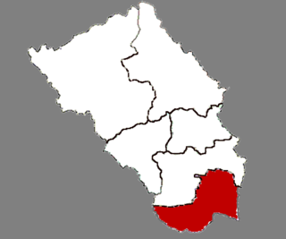 Taierzhuang District District in Shandong, Peoples Republic of China