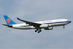 Airbus A330-200 der China Southern Airlines
