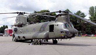 British military intervention in the Sierra Leone Civil War - Image: Chinook.hc 2.za 677.arp