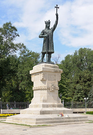 Stephen the Great Monument - Image: Chisinau Stefan cel Mare monument