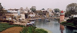 View of ghats at Chitrakoot