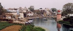 Chitrakoot, Madhya Pradesh - View of ghats at Chitrakoot