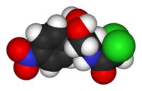 Chloramphenicol-3D-vdW.png