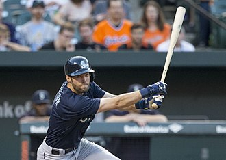 Chris Taylor (baseball) - Taylor with the 2015 Seattle Mariners