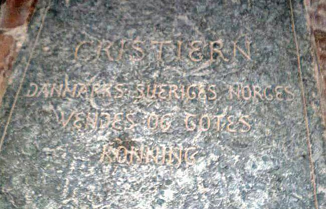 Christian II of Denmark, Norway %26 Sweden grave 2009