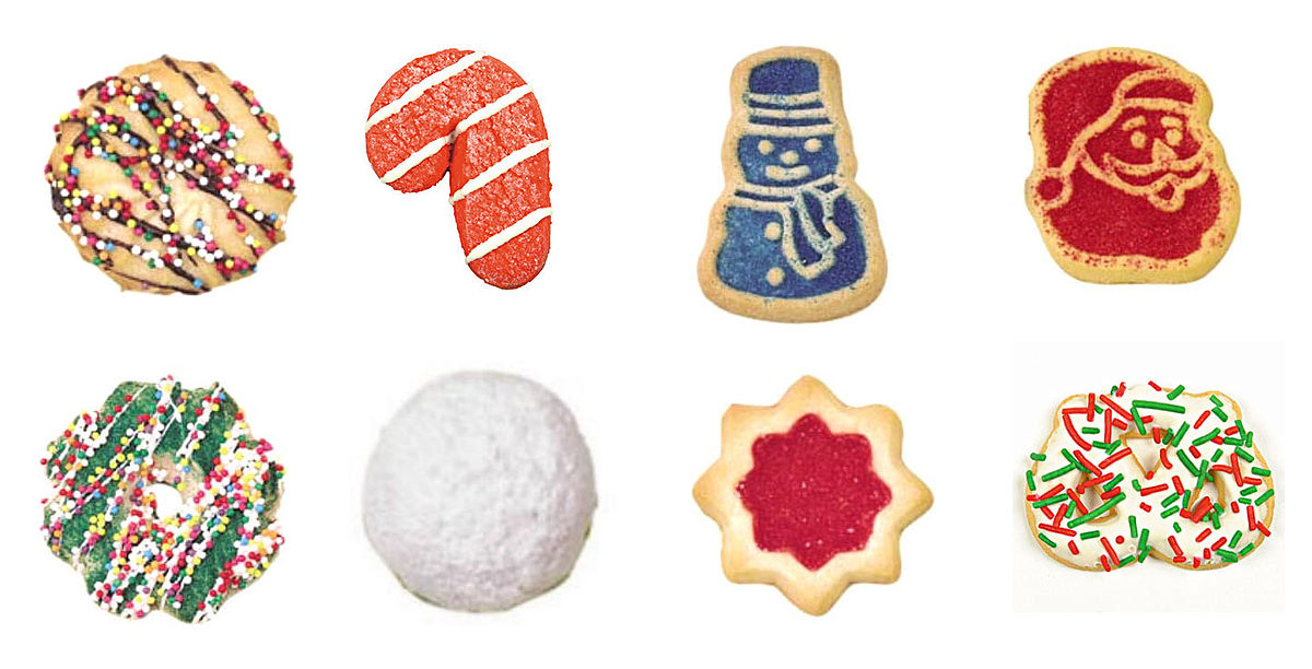 Christmas cookie - Wikipedia