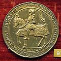 Christoph fuessl, med. di ferdinando I d'asburgo imperatore, 1556-64 ca., arg. dorato.JPG