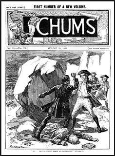 <i>Chums</i> (paper) boys weekly newspaper published in the UK from 1892 to 1941
