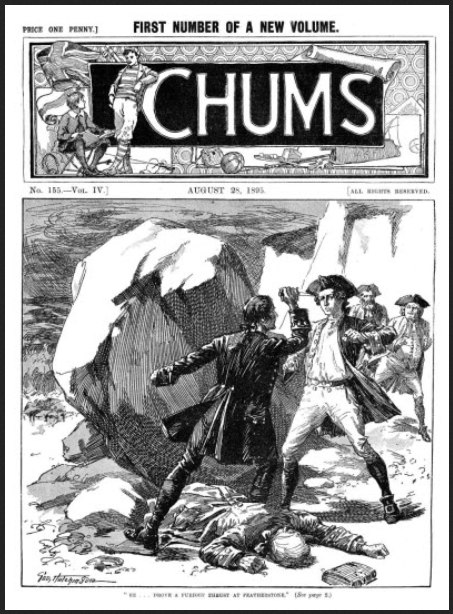 Chums 28 August 1895