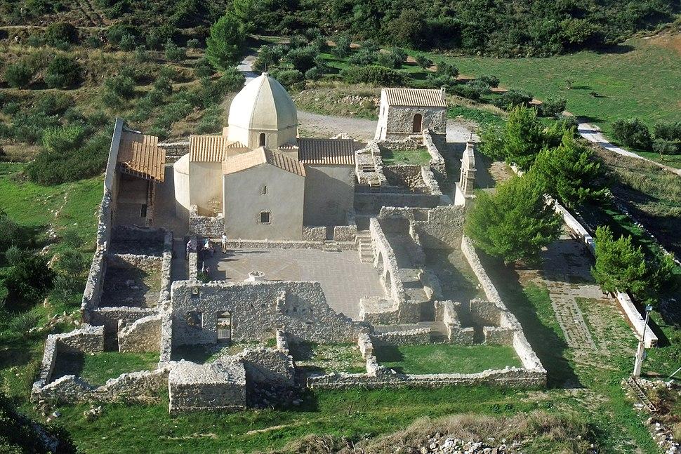 Church and monastery ruins Panagía Skopiótissa – Mount Skopós - Zakynthos - Greece – 01