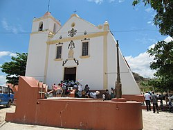 Church of Muxima, pilgrimage site, Bengo province.JPG