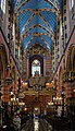 Church of Our Lady Assumed into Heaven (St. Mary's Church), interior-choir and organ, 5 Mariacki square, Old Town, Krakow, Poland.jpg