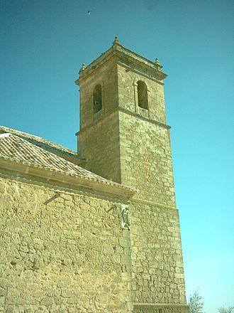 Mesa de Ocaña - Church of St. James in Santa Cruz de la Zarza.
