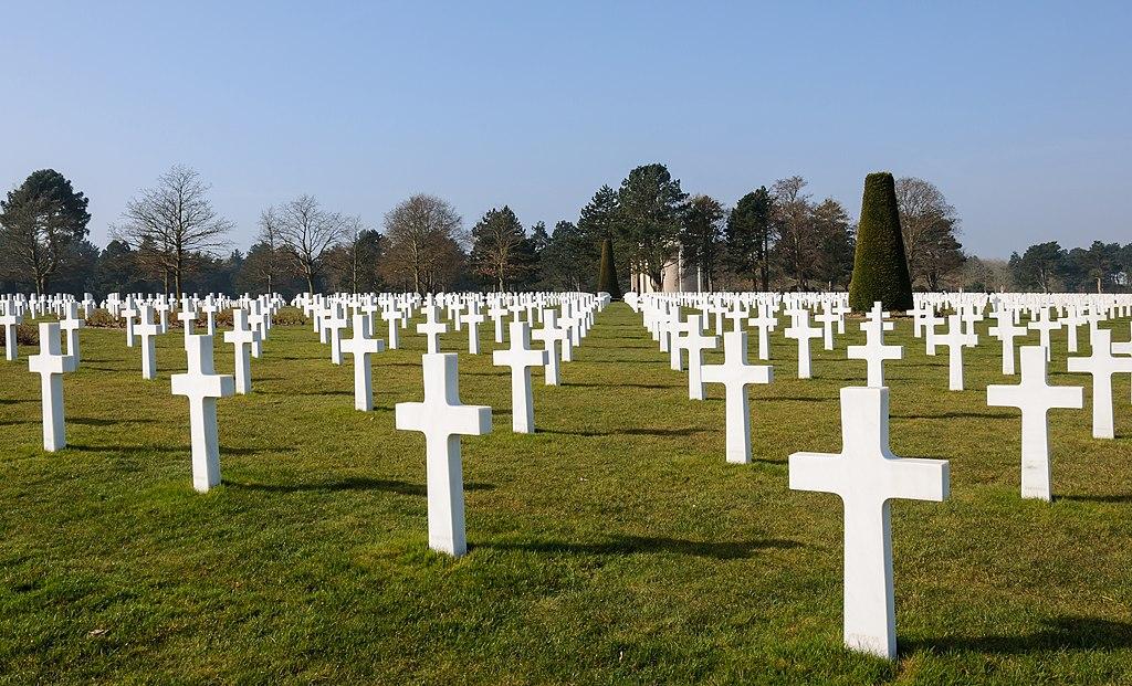Cementerio americano de Colleville-sur-Mer