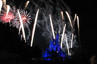 Cinderella Castle and Wishes 2.jpg