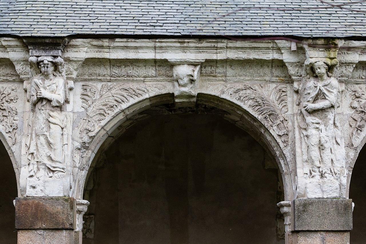 file cinqui me arcade de la galerie ouest du clo tre de l 39 ancienne abbaye saint melaine rennes. Black Bedroom Furniture Sets. Home Design Ideas