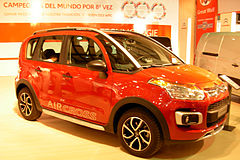Citroën C3 Aircross I przed liftingiem