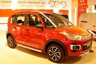 Citroën C3 Aircross - C3 Aircross at the 2012 Montevideo Motor Show