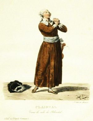 Richard Coeur-de-lion (opera) - Clairval in the role of Blondel