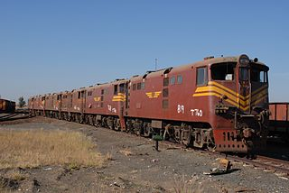 South African Class 5E1, Series 3 class of 100 South African electric locomotives
