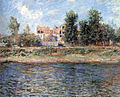 Claude Monet - Le berge de La Seine, 1880.jpg
