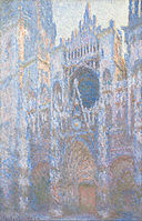 Claude Monet - Rouen Cathedral, West Façade - Google Art Project