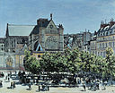 Claude Monet - St. Germain l'Auxerrois à Paris - Google Art Project.jpg