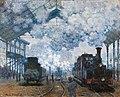 Claude Monet - The Gare Saint-Lazare, Arrival of a Train.jpg