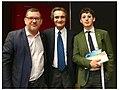 Claudio Degasperi, Attilio Fontana and Lorenzo Barzon.jpg