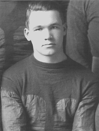 "1916 Michigan Wolverines football team - Coach Yost called the unplanned drop-kick field goal by Cliff Sparks (pictured) ""the greatest individual play ever seen in my whole career""."