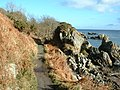 Coast path from Moville to Greencastle - geograph.org.uk - 125581.jpg