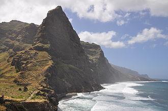 Santo Antão, Cape Verde - Coastline of Santo Antão