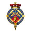 Coat of Arms of Margaret Thatcher, Baroness Thatcher, LG, OM, DStJ, PC, FRS, HonFRSC.png