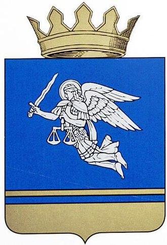 Mikhaylovsky District, Volgograd Oblast - Image: Coat of arms of Mikhaylovsky district