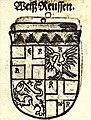 Coat of arms of Reuss-Weida family, 1581.jpg
