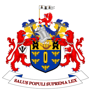 Salford City Council - Image: Coat of arms of Salford City Council