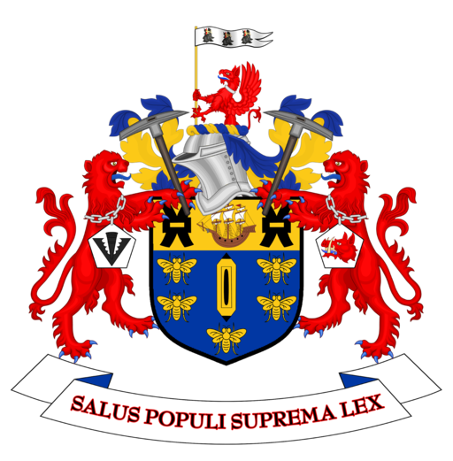 Coat of arms of Salford City Council