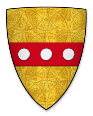 William of Huntingfield - Arms of William de Huntingfield, Sheriff of Norfolk and Suffolk