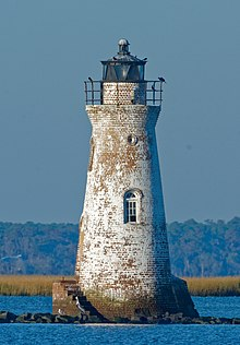 Cockspur Island Light, Chatham County, GA, US.jpg