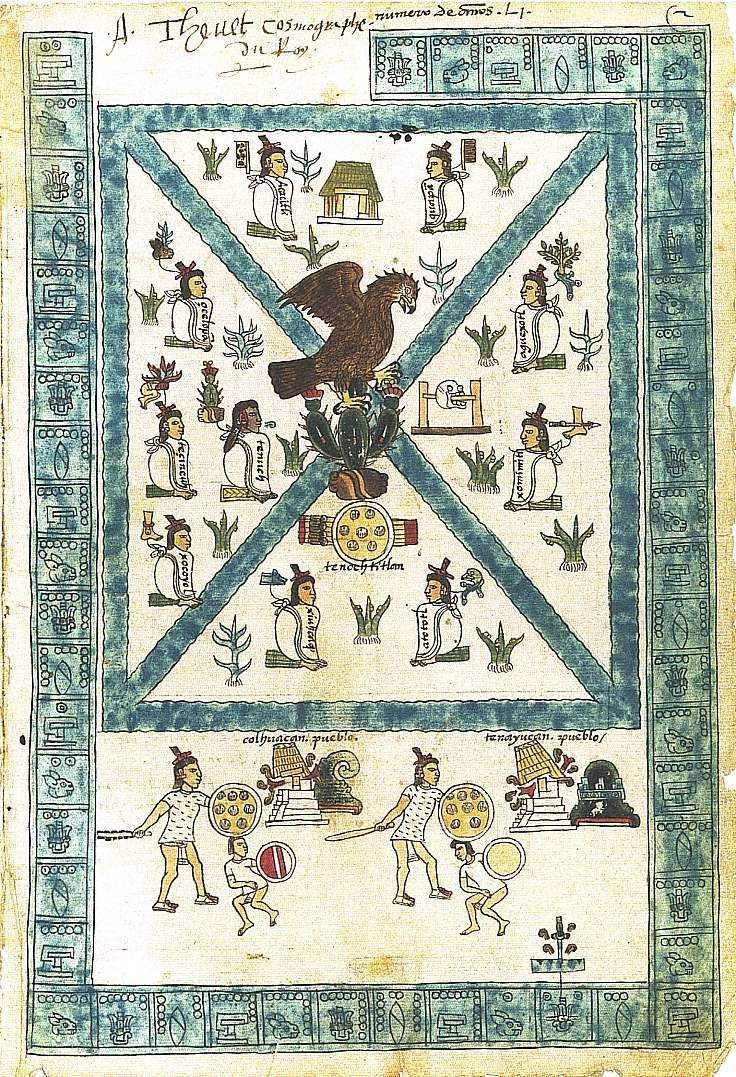 Codex Mendoza folio 2r
