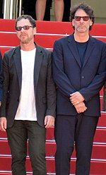 Picture of the Coen Brothers at the 2001 Cannes Film Festival.