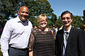Coeteau, Carroll and Chan at the CFC Annual BBQ Fundraiser 2014.jpg