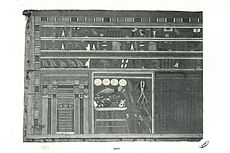 Outer coffin of the steward Nefri, on which the cartouches of Wahkare Khety were found (Cairo CG 28088)
