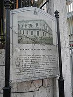 Colegio de Santa Potenciana location marker.jpg