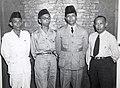 Collectie NMvWereldculturen, TM-60042255, Foto- De delegatie van Zuid-Bormeo tijdens een Federale conferentie voor een Federaal Indonesie, Batavia, 14 juni 1948, 1948.jpg
