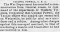 Colonel Powell bad Wheeling Daily Intelligencer Aug 11 1863 Page 1.png