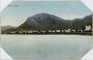 Color post card. Metlakahtla, Alaska. - NARA - 298076.jpg
