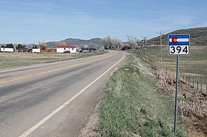 Colorado State Highway 394 - Image: Colorado State Highway 394
